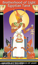 Brotherhood of Light Egyptian Tarot NEW 78 cards Vicki Brewer Church of Light