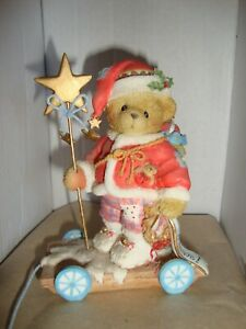 """VINTAGE CHERISHED TEDDIES  -  """"YOUR WISHES WILL COME TRUE IF YOU JUST BELIEVE"""""""