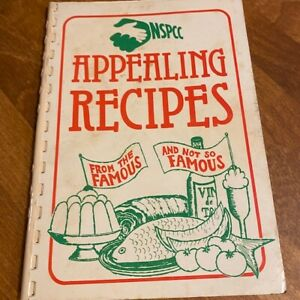 Vintage NSPCC Appealing Recipes Charity Recipe / Cookery Book 1953