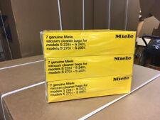 GENUINE MIELE vacuum cleaner bags-3 BOX LOT