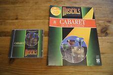 Musicals Collection 8 Cabaret CD & magazine DeAgostini soundtrack
