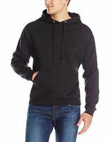 Jerzees Men's Fleece Pullover Hoodie, black, Large, Black, Size Large A9Gm