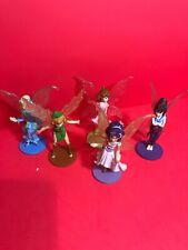 Disney Store Tinker Bell Great Fairies Play Set of  Figure Cake Topper