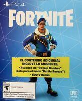 Fortnite Royale Bomber Epic Outfit Skin+500 V Bucks Code PS4 N/A Server Instant