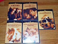 INGMAR BERGMAN SPECIAL EDITION MOVIES: SHAME, PERSONA, THE SERPENT'S EGG