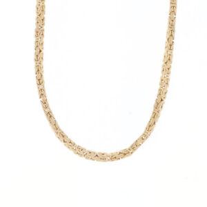 AJN Königskette aus 585 Gelbgold 101 cm