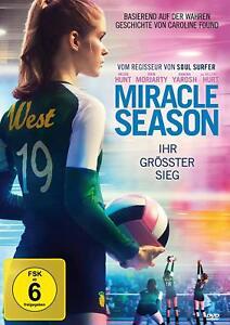 The Miracle Season - Caroline Found Story -Helen Hunt NEW SEALED UK REGION 2 DVD