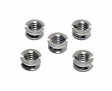 "5x Kood 1/4"" Female to 3/8"" Male Conversion Tripod Head Thread Adapter Screw"