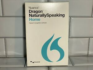 Nuance Dragon Naturally Speaking Home 13 Version 13.0 Headset, USB Adapter, Disc