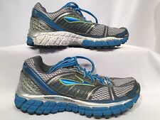 BROOKS  Trance 12 Size  5.5 Women's Running Shoes 1201241B210 Blue Grey White