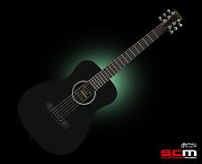 Martin LX Little Martin Traveller Acoustic Guitar Black Satin w/Gig Bag FREE P+H