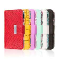 For LG G2 Phone Wallet Case Cover Wrist Strap Credit Card ID Pocket Flip Stand