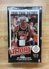 1999-2000 Upper Deck Victory Premier Edition Sealed Hobby Box Michael Jordan