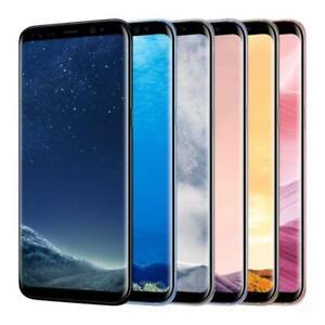 Samsung Galaxy S8 & S8 Plus - Unlocked - 64GB - Smartphone - G950U + G955U