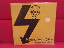 Severed Head Of State Power Hazard E.P.