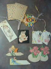 Lovely Assortment of Vintage Bridge Tally Cards