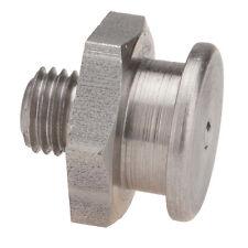 M8 x 1,0 [100 Stück] V2A DIN 3404 Ø16mm Flachschmiernippel NIRO