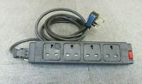 4 Way UK Outlets Under Desk PDU 240V 13A Power Module And Power Cable