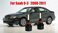 LED For SAAB 9-3 2008-2011 Headlight Kit H11 6000K White CREE Bulbs Low Beam