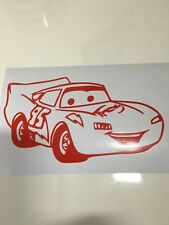 lightning Mcqueen ,car decal/ sticker for windows, bumpers , panels or laptops