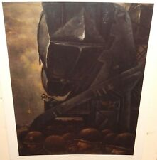 "MITCHELL JAMIESON ""DAWN OF D-DAY OF THE COAST OF FRANCE"" MILITARY LITHOGRAPH"
