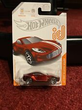 2020 Hot Wheels Id Chase Car spectraflame red Aston Martin One-77 moc 7/8