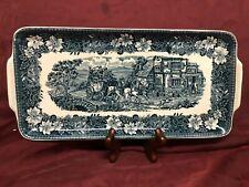 "Royal Tudorware ""Coaching Tavern"" Hand Engraved / W.N.Mellon. Staffordshire, Eng"