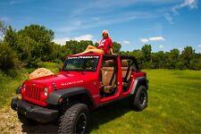 Custom JK Jeep Wrangler Front License Plate Mount Bracket *NO DRILL*