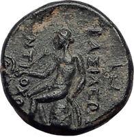 ANTIOCHOS II Theos 261BC Seleukid Authentic Ancient Greek Coin APOLLO i65154