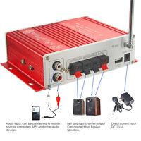 160W V10 Mini Bluetooth Hi-Fi Stereo Digital Audio Power Amplifier 12V