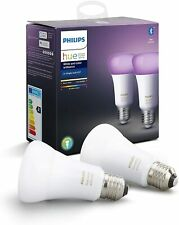 Philips Hue LED White & Color Ambiance E27 2er Bluetooth Aktuelle Generation OVP