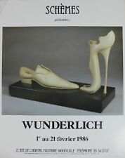 Affiche Wunderlich - Schémes