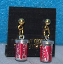 Coca-Cola, Coke Coke Can Earrings - Pierced with Posts