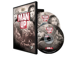 "Official ROH Ring of Honor ""Man Up"" Best Of The Briscoes Brothers 2 DVD Set"