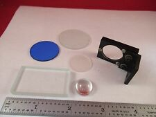 New listing Lot Optical Lens Filter Etc Optics As Pictured &W1-A-19