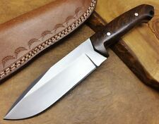 TITAN Handmade Couteau de chasse J2 Steel Lame fixe Camping Hunting Knife 2340ST