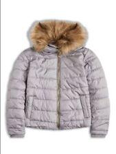 Abrigos y chaquetas de niña de 2 a 16 años abrigo gris