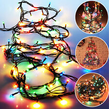 LED Colorful String Fairy Lights Christmas Party Wedding Garden Xmas Tree Decor