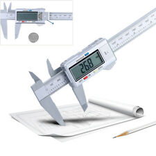 6Zoll LCD Digital Elektronische Kohlefaser Messschieber Mikrometer Messwerkzeug