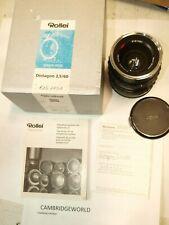 Rollei ROLLEIFLEX CARL ZEISS DISTAGON  HFT 60mm F3.5 HFT Lens NEW OLD STOCK