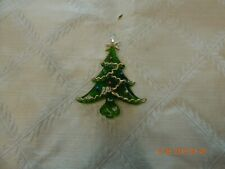 Kurt Adler glass Christmas tree ornament
