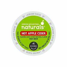Keurig, Green Mountain Naturals, Hot Apple Cider, K-Cup packs, 72 Count , New, F