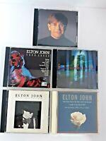 Lot of 5 ELTON JOHN CD's  pre-owned