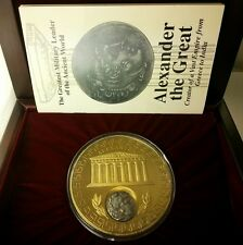 Alexander The Great SILVER Tetradrachm 336-323 BC W/Box & PAPERS Limited edition