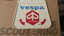 Vespa Piaggio White Mudflap ... NEW!!