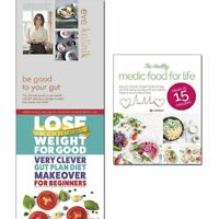 Ultimate Guide to gut health Be Good to Your Gut Eve Kalinik 3 Books Collection