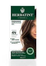 HERBATINT HERBAL NATURAL HAIR COLOUR DYE CHESTNUT 4N 150ml -AMMONIA FREE