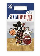 Disney Mickey Mouse NBA Experience Collectible Pin Basketball DS Miami Heat