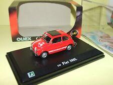 FIAT 500 L Rouge OLIEX