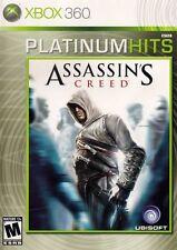 Assassin's Creed -- Platinum Hits Edition (Microsoft Xbox 360, 2007)